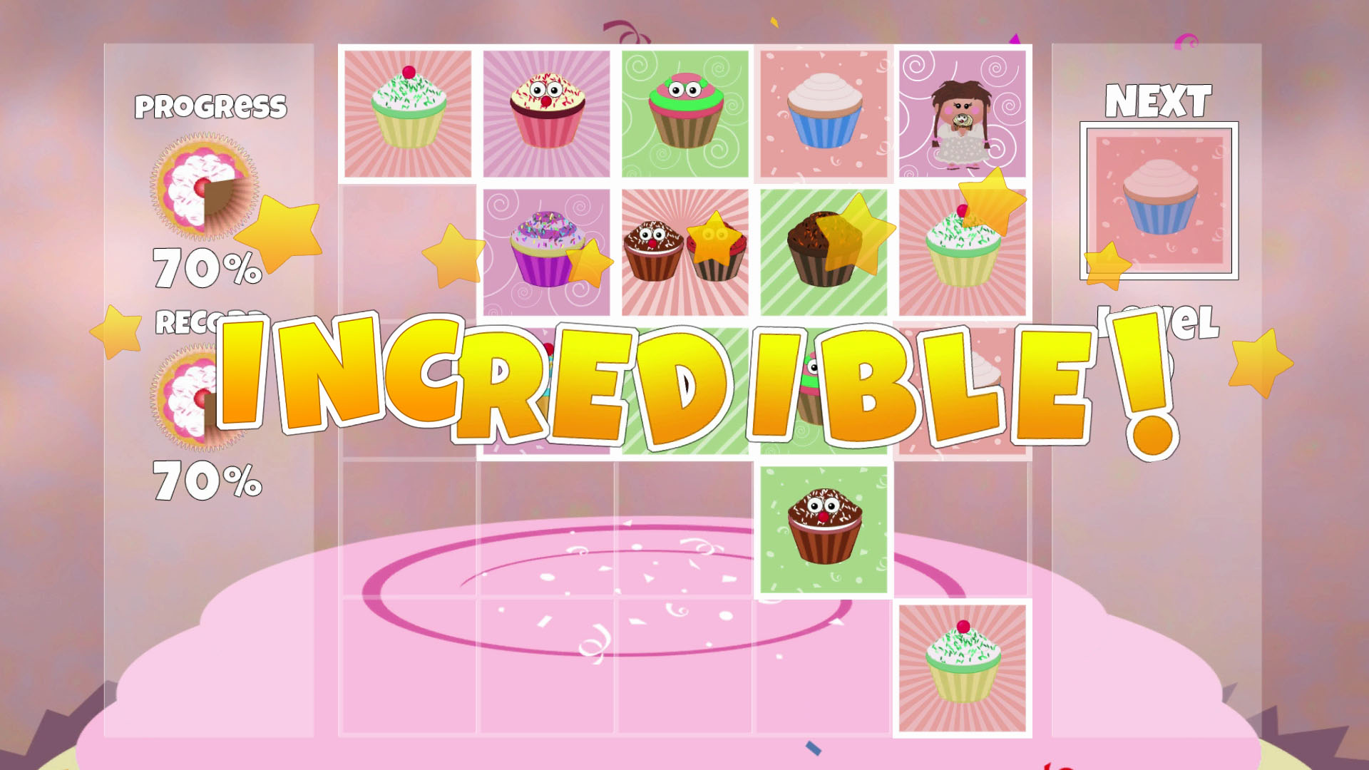 Cupcake Level Screen Shot