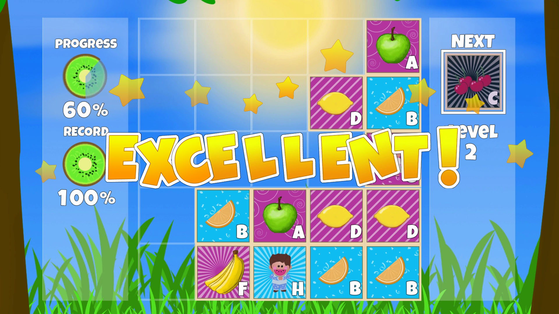 Fruit Level Screen Shot